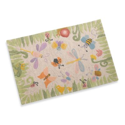 Momeni Lil Mo Bug 2-Foot x 3-Foot Accent Rug
