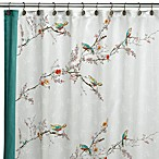 Simply Fine Lenox® Chirp 70-Inch x 72-Inch Fabric Shower Curtain