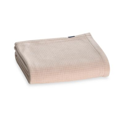 Berkshire Blanket® Polartec® Softec™ Twin Blanket in Linen