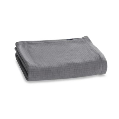 Berkshire Blanket® Polartec® Softec™ Twin Blanket in Grey