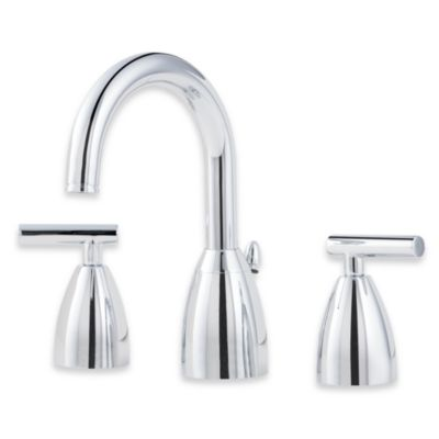 "Price Pfister® Contempra 8"" Widespread Faucet in Nickel"