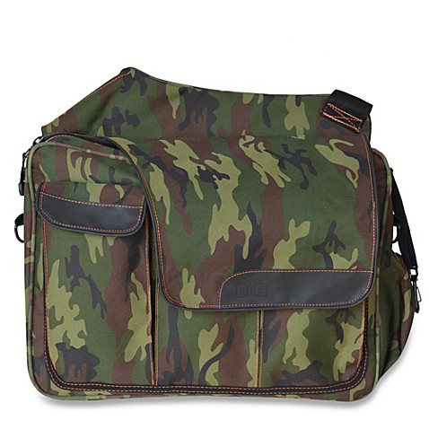 dad diaper bags diaper dude messenger ii diaper bag in camo from buy buy baby. Black Bedroom Furniture Sets. Home Design Ideas