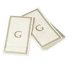 Monogram Disposable Letter