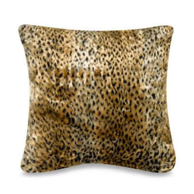 Cheetah 18-Inch Square Toss Pillow
