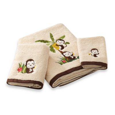 Motion Monkey Hand Towel