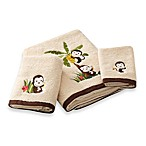 Motion Monkey Bath Towels, 100% Cotton