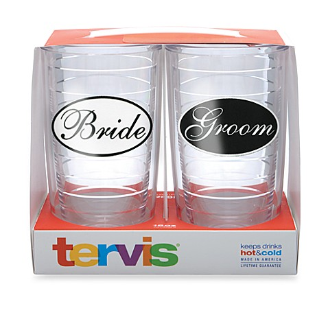 Bride and Groom 16-Ounce Tervis Tumblers (Set of two)