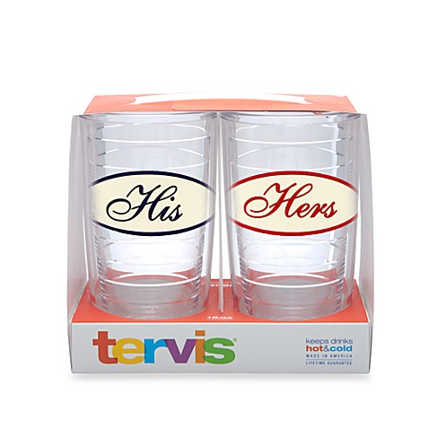 His and Hers 16-Ounce Tervis® Tumblers (Set of 2)