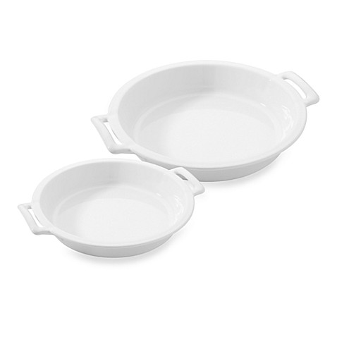 Revol porcelain belle cuisine pie dish bed bath beyond for Revol belle cuisine