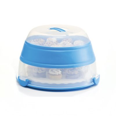 prepworks® Collapsible Cupcake and Cake Carrier