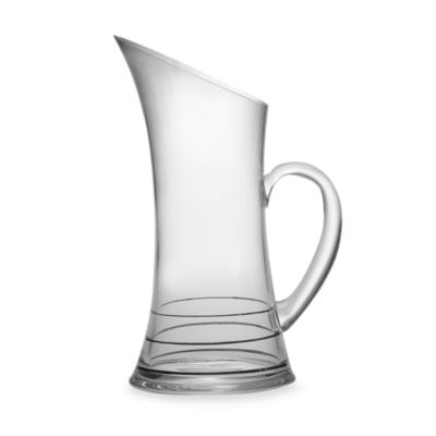 Nautica® Sloane Square Banded 1 1/2-Quart Glass Pitcher