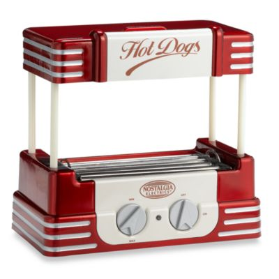 Nostalgia™ Electrics Retro Series™ 50's Style Hot Dog Roller