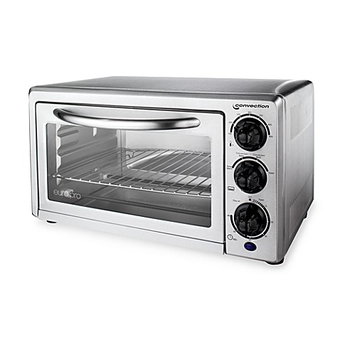 Euro-Pro? Stainless Steel Convection Toaster Oven