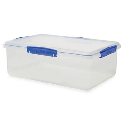 Sistema® KLIP IT® 7-Liter Rectangular Food Storage Container