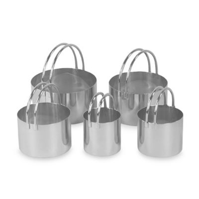 Fox Run Rounded Biscuit Cutters (Set of 5)