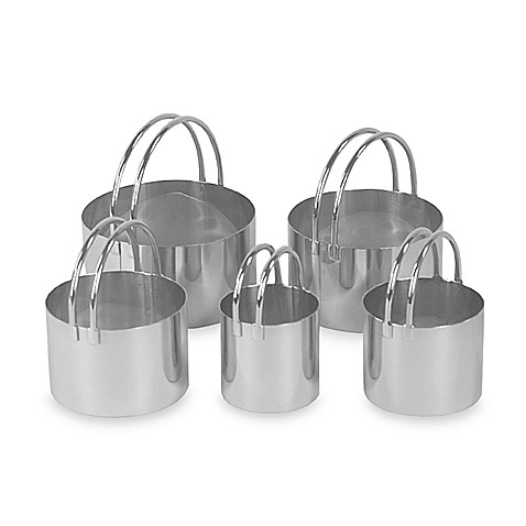 Fox Run® Rounded Biscuit Cutters (Set of 5)