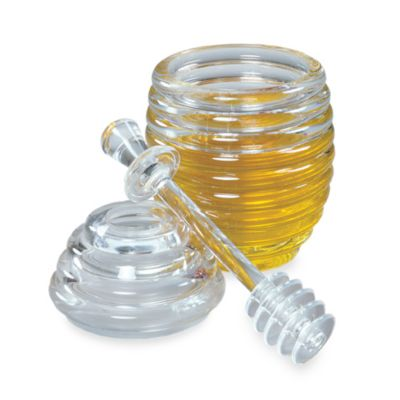 Fox Run Honey Jar & Dipper