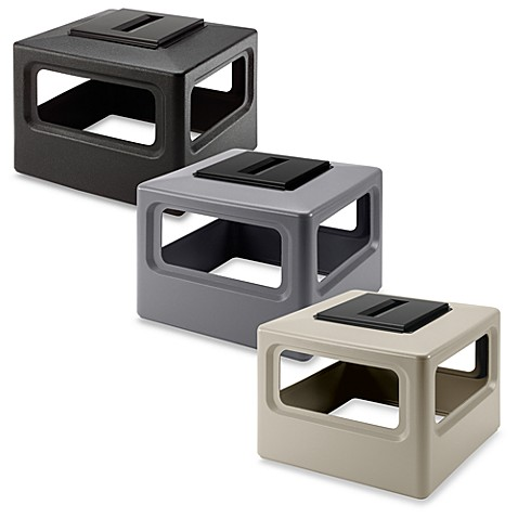 Square Waste Container Ashtray Dome Lid