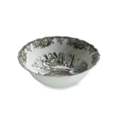 Friendly Village 8-Inch Open Vegetable Bowl by Johnson Brothers