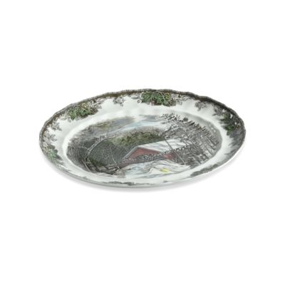 Friendly Village 15 1/4-Inch Platter by Johnson Brothers