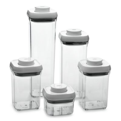 OXO 5-Piece Food Storage Pop