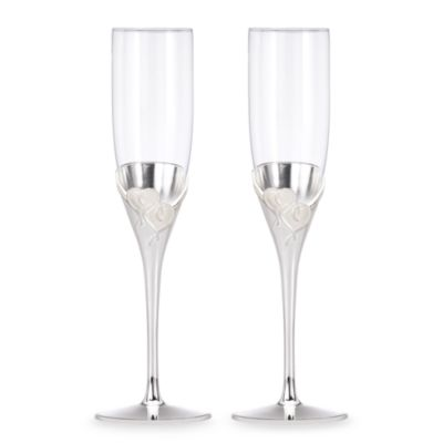 Lenox® True Love Toasting Flutes (Set of 2)