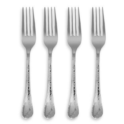 Ginkgo Lafayette Stainless Steel Salad Fork (Set of 4)