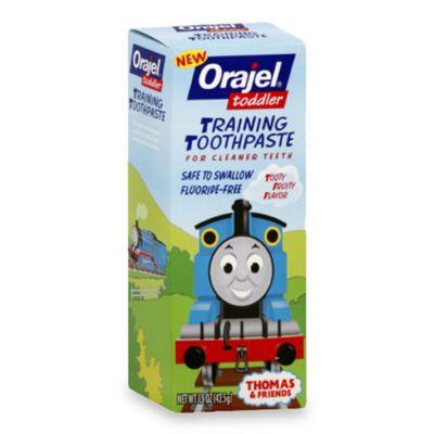 Orajel 1.5 oz. Thomas Toddler Training Toothpaste in Tooty Fruity