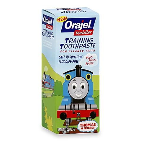 Orajel 1 5 Oz Thomas Toddler Training Toothpaste In Tooty