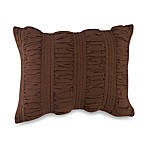 Ambria Oblong Throw Pillow in Chocolate