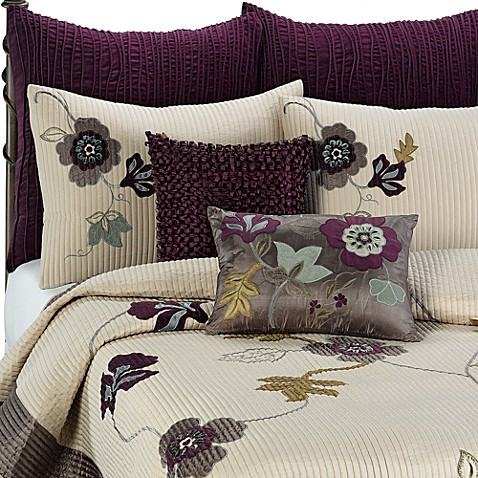 Anthology Quilt In Plum Vine Bed Bath Amp Beyond