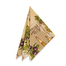 Sorrento Laminated Napkins (Set of 4)