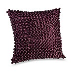 Square Toss Pillow in Plum Vine