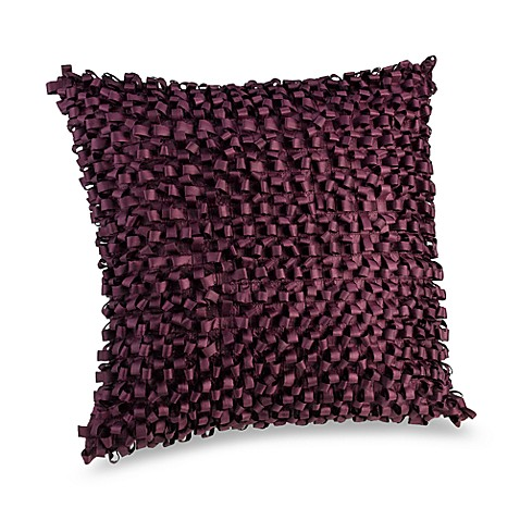 Anthology™ Square Toss Pillow in Plum Vine