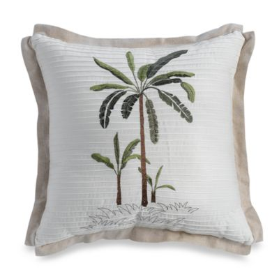 Croscill Fiji 18-Inch Square Toss Pillow
