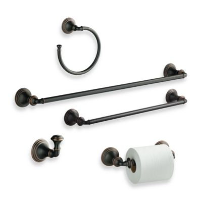 Kohler® Devonshire Oil Rubbed Bronze 18-Inch Towel Bar