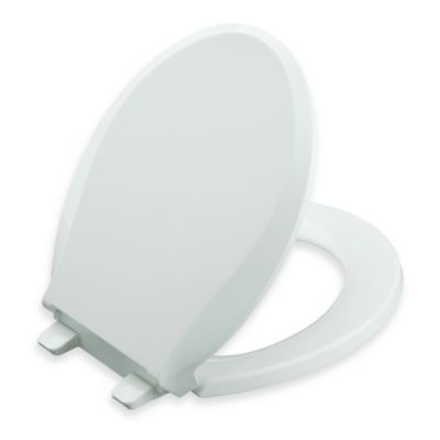Kohler® Cachet® Quiet-Close™ Quick Release™ Elongated Toilet Seat in White