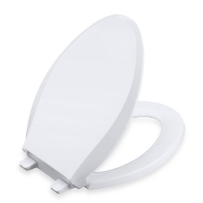 Kohler® Cachet® Quiet-Close™ Quick Release™ Standard Toilet Seat in White