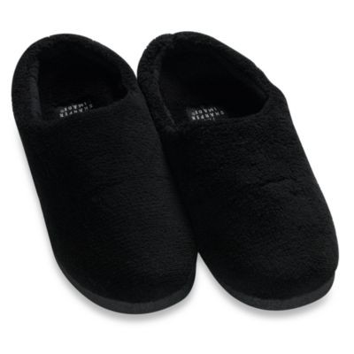 Sharper Image® Men's Extra Large Temperature Regulating Memory Foam Slippers