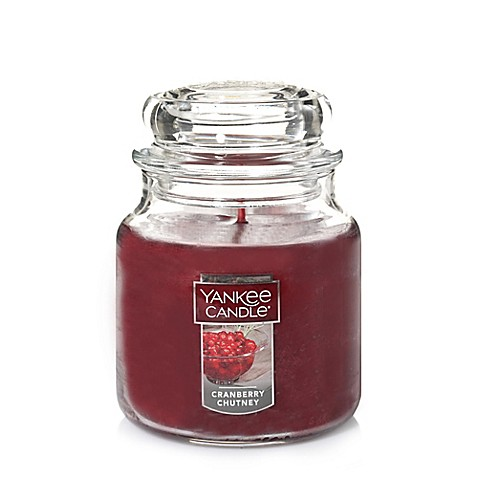 Yankee Candle® Housewarmer® Cranberry Chutney Medium Classic Candle Jar