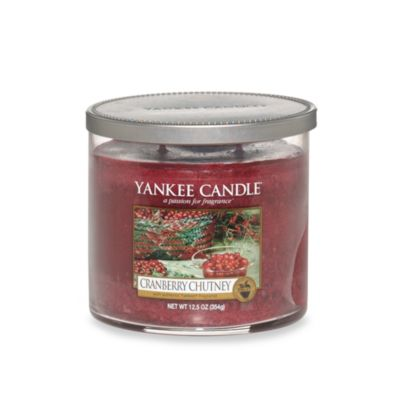 Yankee Candle® Housewarmer® Cranberry Chutney Medium Lidded Candle Tumbler