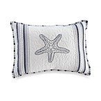 Seaside Stripe Oblong Toss Pillow