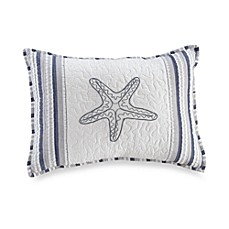 Seaside Stripe Oblong Throw Pillow