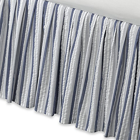 Seaside Stripe Bed Skirt