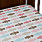 DwellStudio® Paper Dolls Petal Fitted Crib Sheet