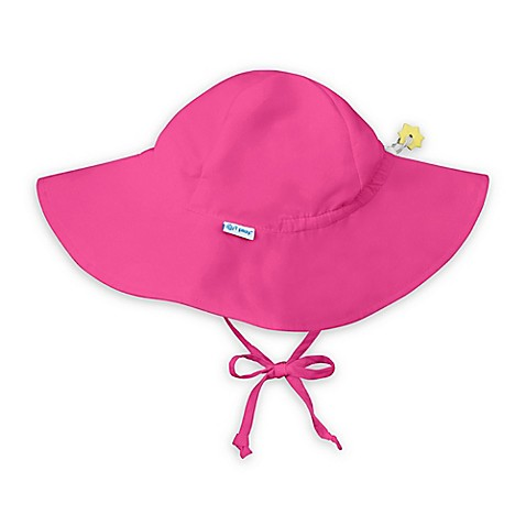 i play.® Infant Brim Sun Hat in Hot Pink