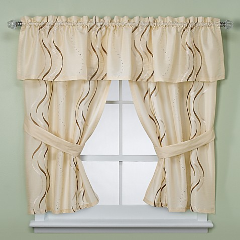 croscill dante bathroom window curtain pair from bed bath beyond