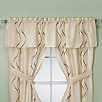 Croscill® Dante Champagne Bathroom Window Valance