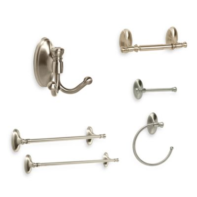 Amerock® Saybrook™ Satin Nickel Double Robe Hook