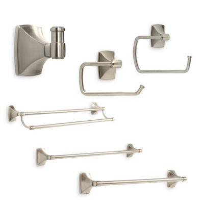 Amerock® Clarendon™ Satin Nickel Double Robe Hook
